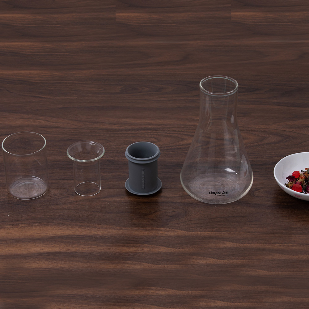 SIMPLE LAB MIXO 燒杯泡茶壺(含玻璃杯)