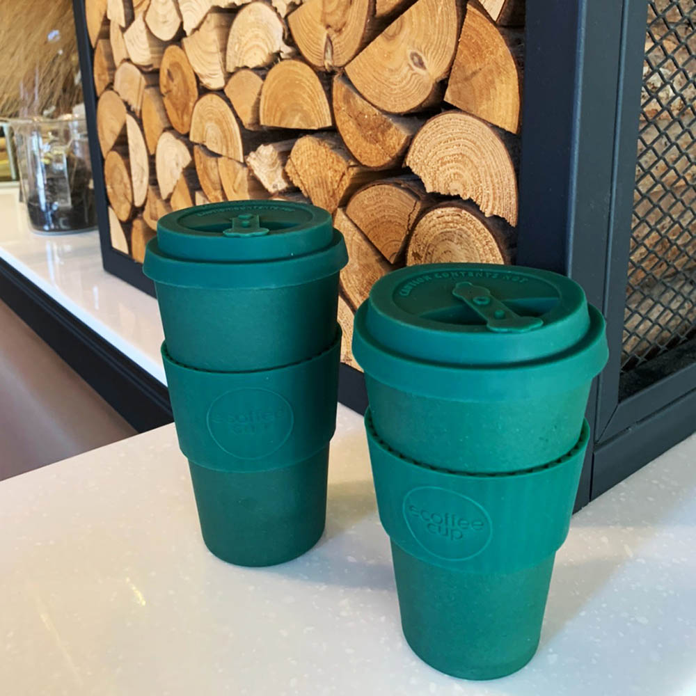 Ecoffee Cup|環保隨行杯16oz-森林綠