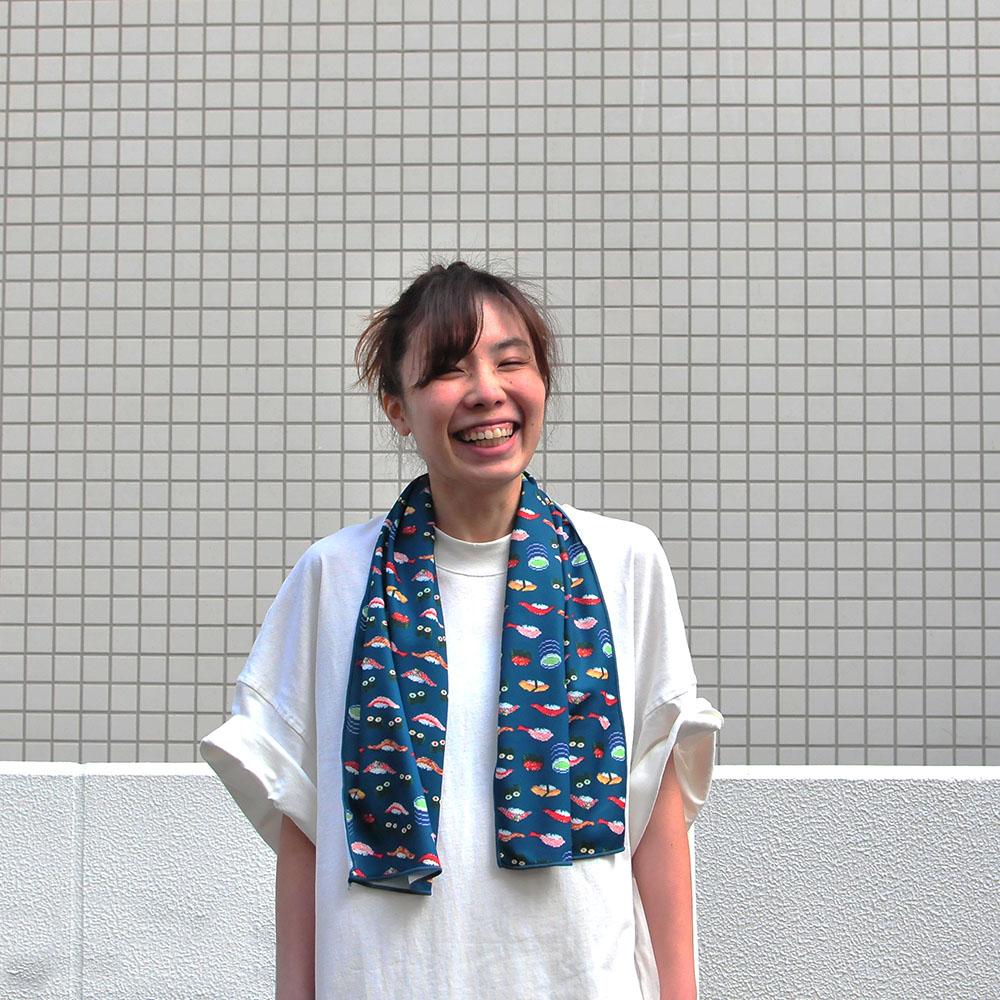 Génial|涼感巾(壽司派對)
