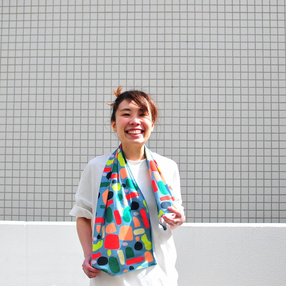 Génial|涼感巾(夏天色彩)