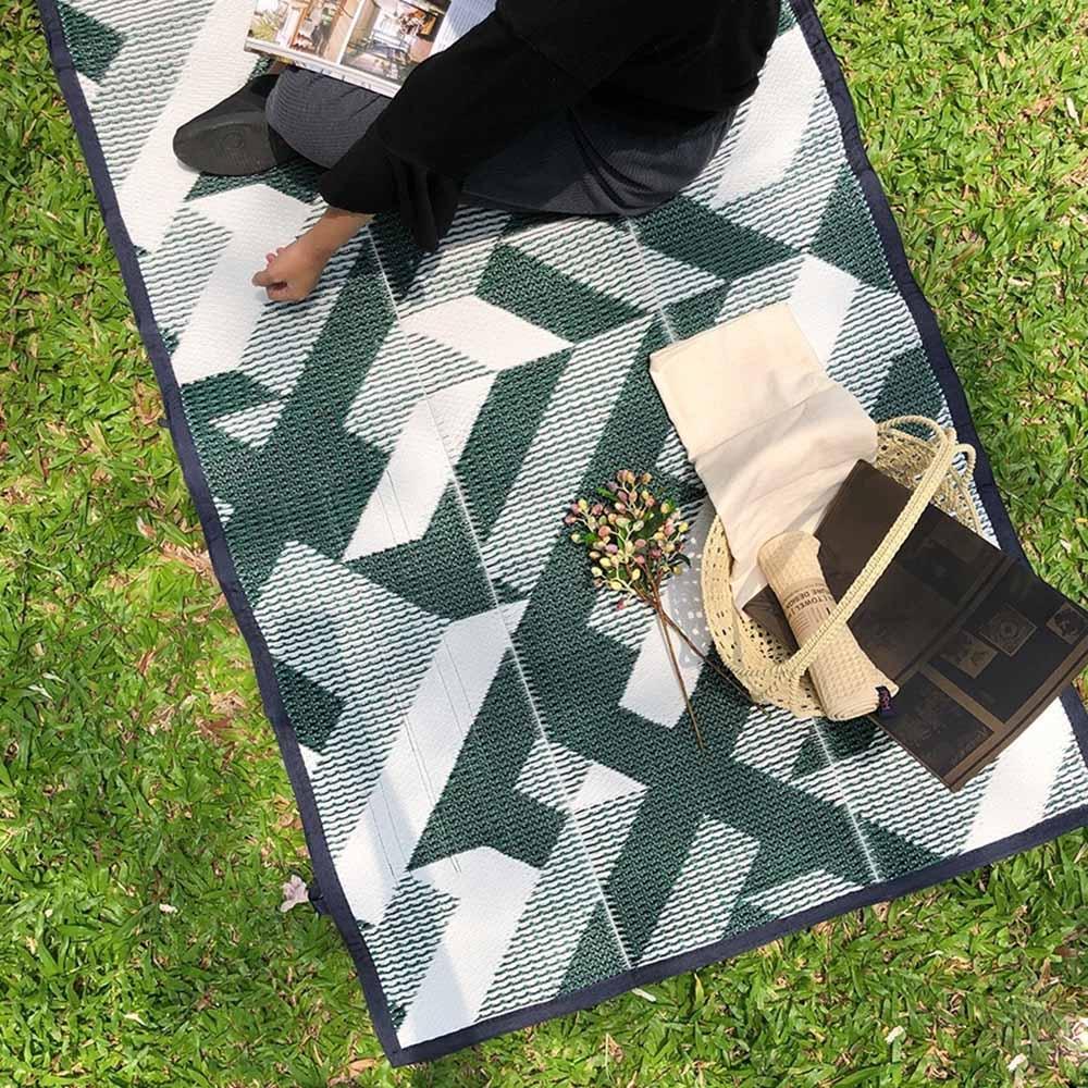 PDM|編織野餐墊S(城市綠)