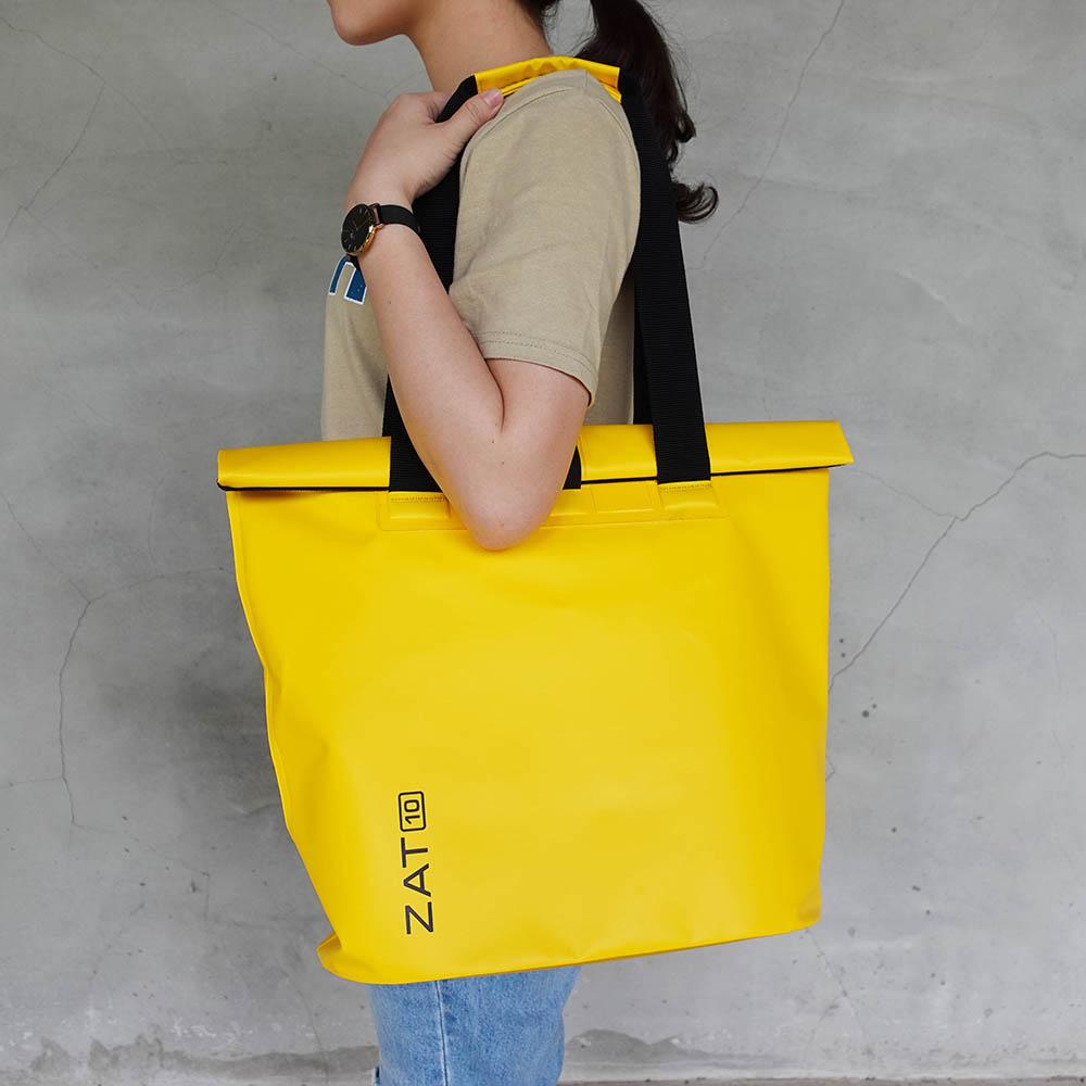 ZAT|防水側背包10L(黃)