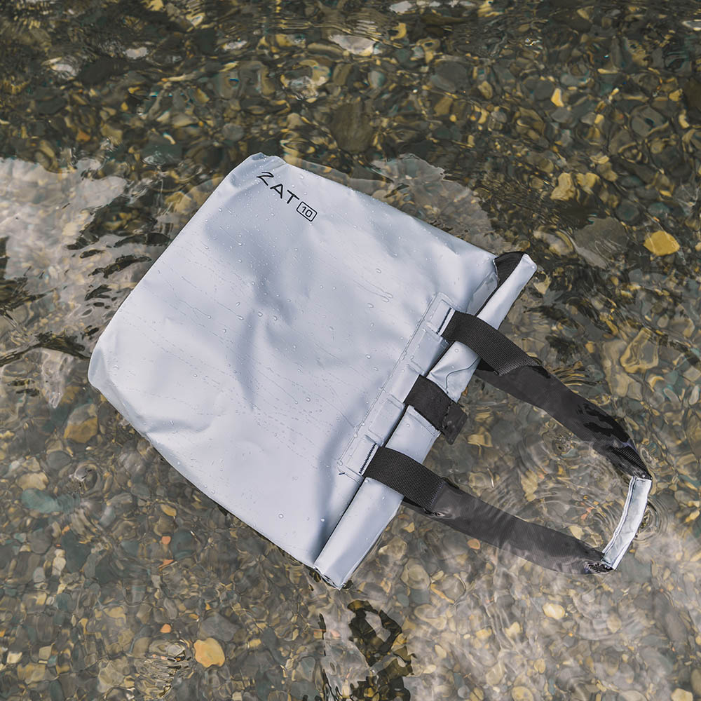 ZAT 防水側背包10L(灰)