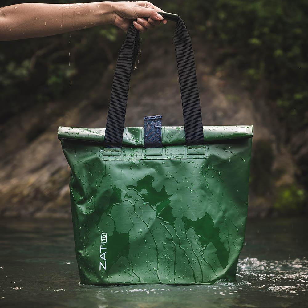 ZAT|防水側背包10L(墨綠)