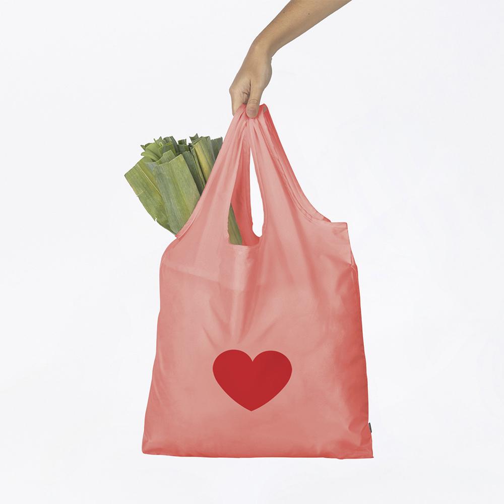 DOIY 環保購物袋(愛心)