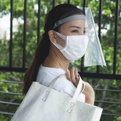 QUALY 防疫面罩 灰 (三入組)