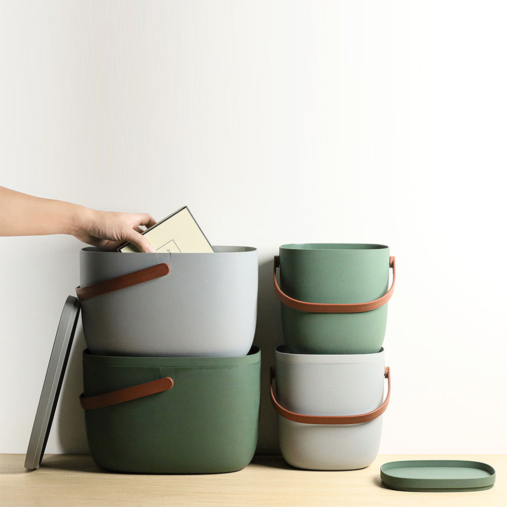 QUALY|手提式置物箱7L