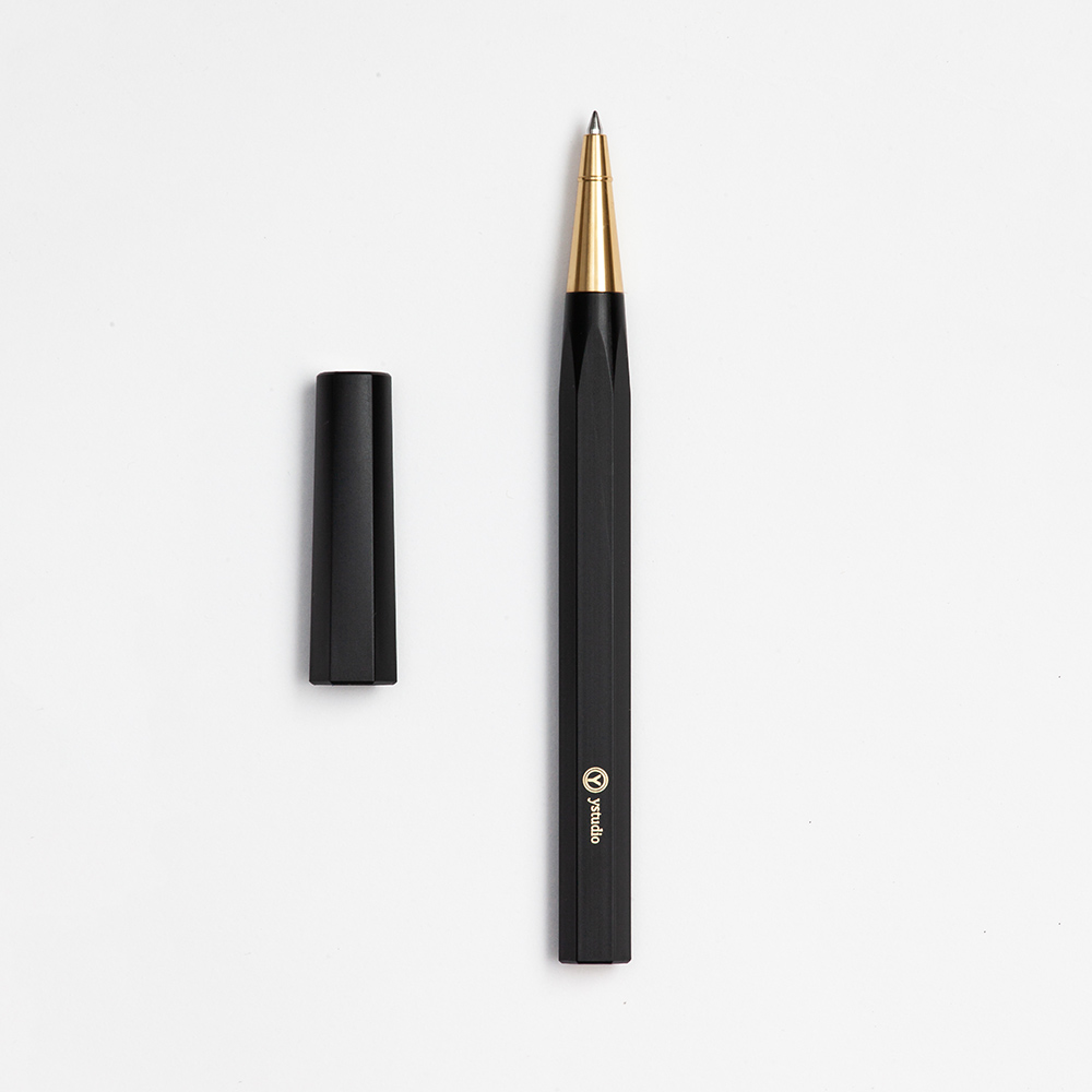 ystudio| Resin 鋼珠筆 - 黑色