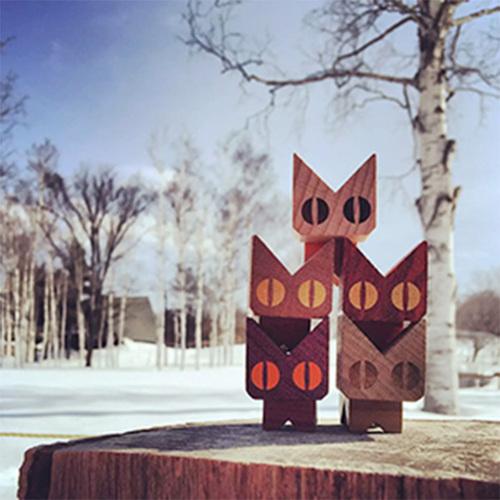 iwood|騎趴旅行貓平衡積木(套組)