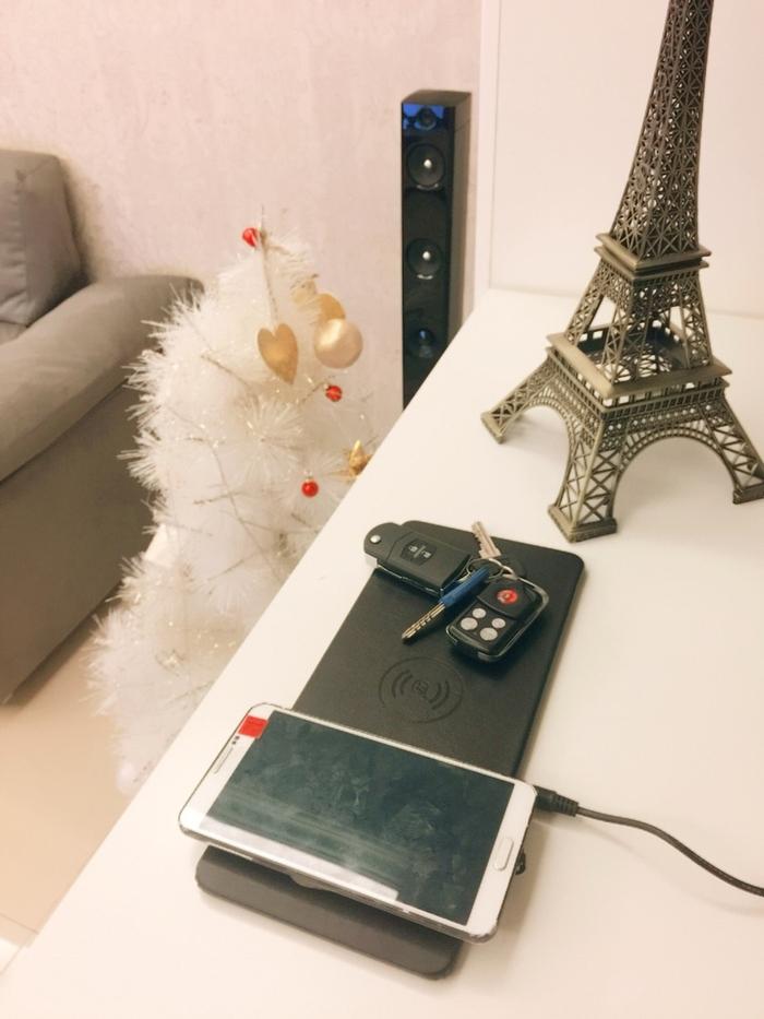 【Jeway】皮質三充無線充電盤