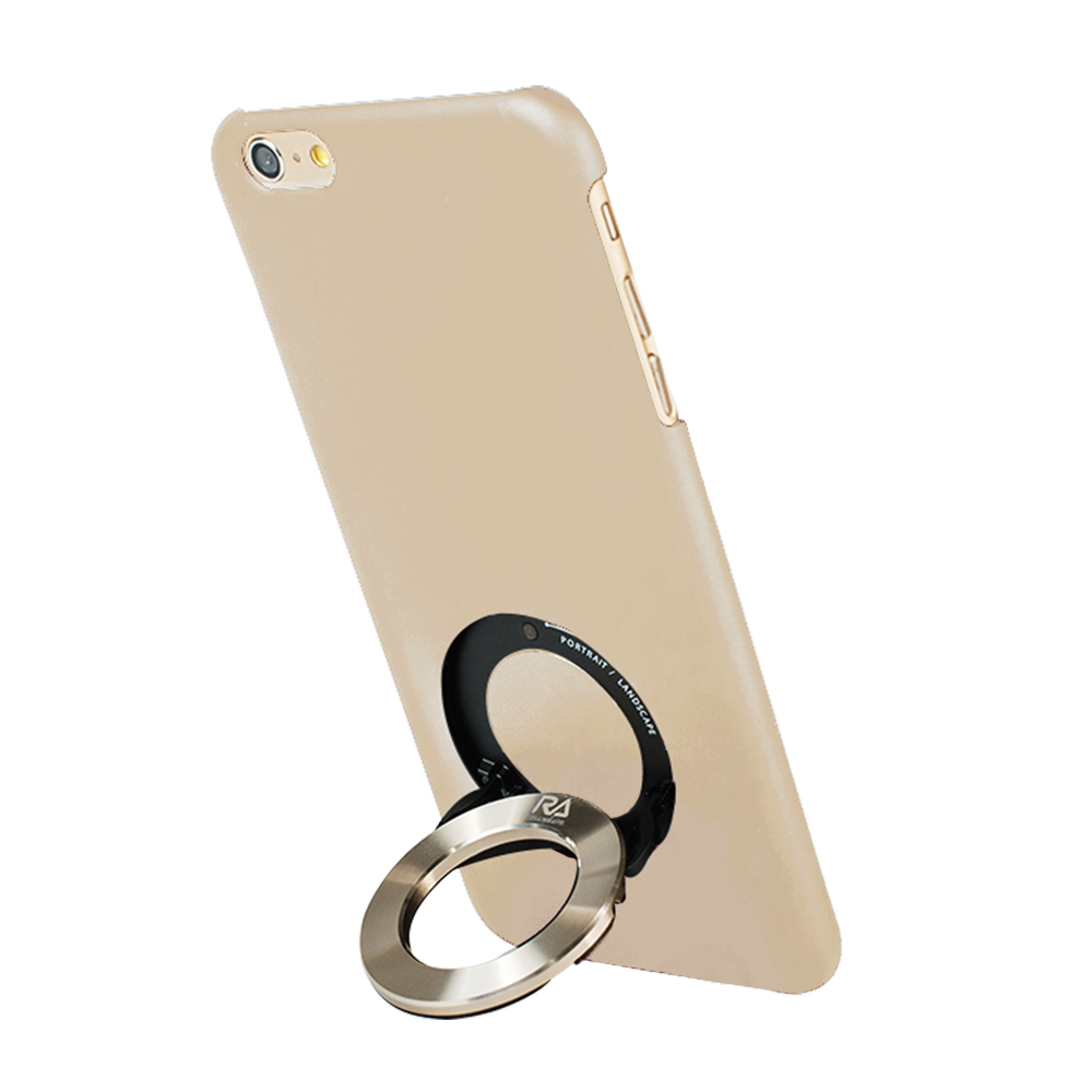 Rolling Ave. iCircle iphone6 / iphone6S 背蓋支架(米+金環)