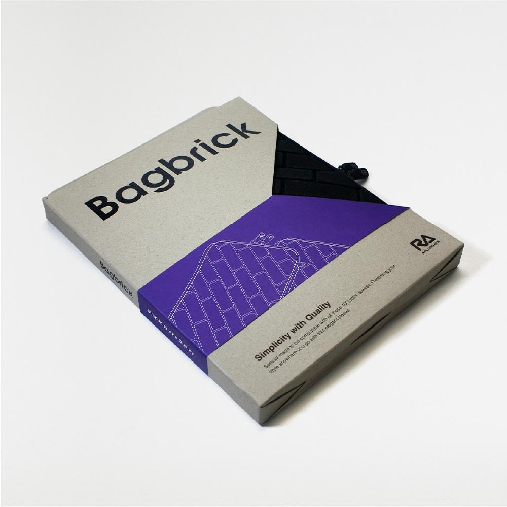 Rolling Ave.|Bagbrick 時尚磚紋保護套 8吋
