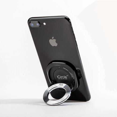 Rolling Ave.|iCircle Uni iPhone 7 plus 多功能支架保護殼 - 黑色金環