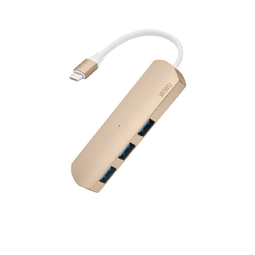 WiWU | Type-C Hub 3 in 1 Hub 多功能充電傳輸集線器