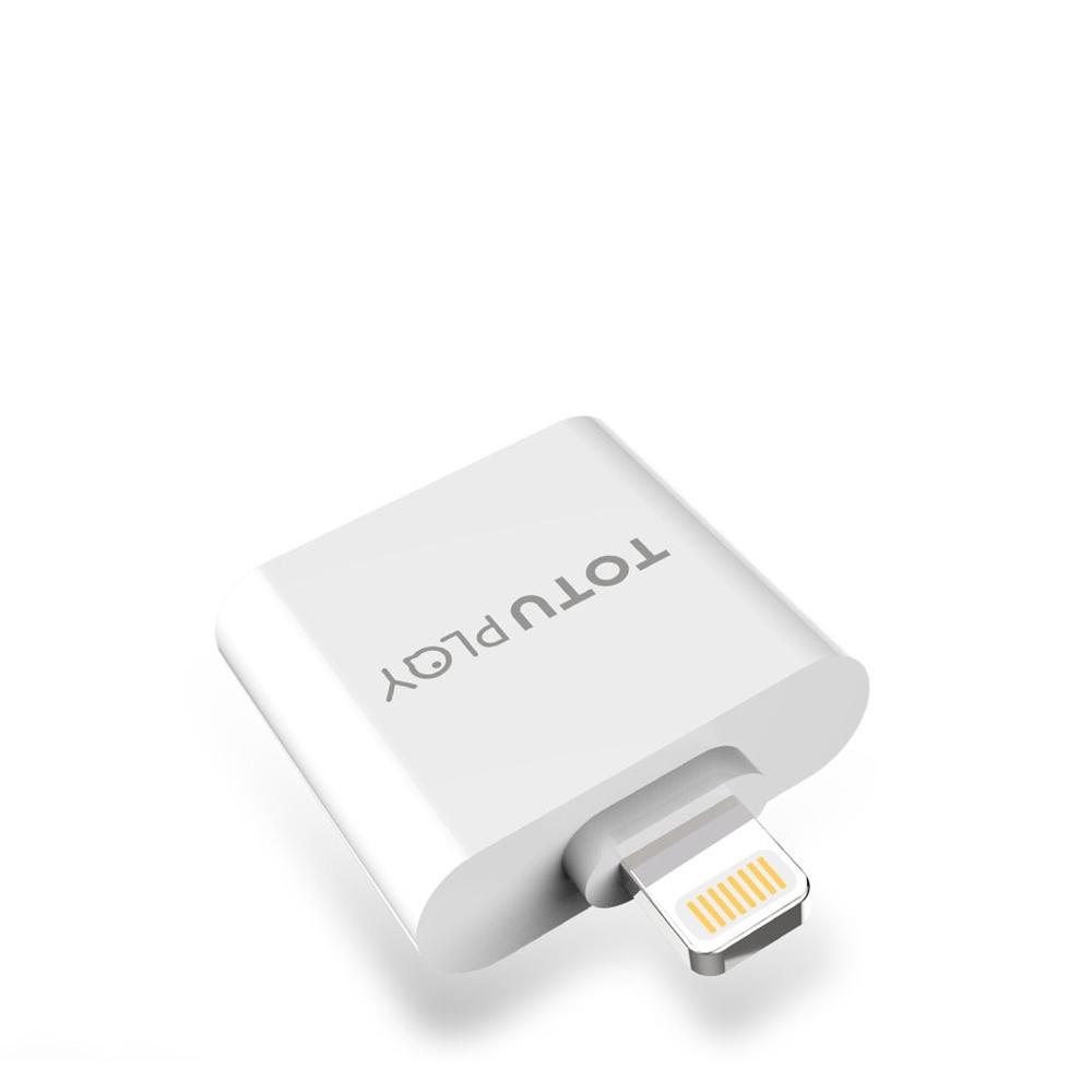 TOTU | Lightning - AU06 Lightning充電與通話/音樂音頻轉接器