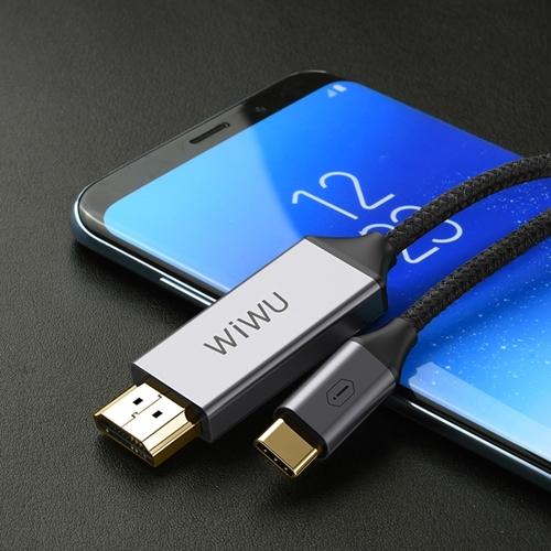 WiWU|Type-C 轉 HDMI 手機投屏高清轉換線