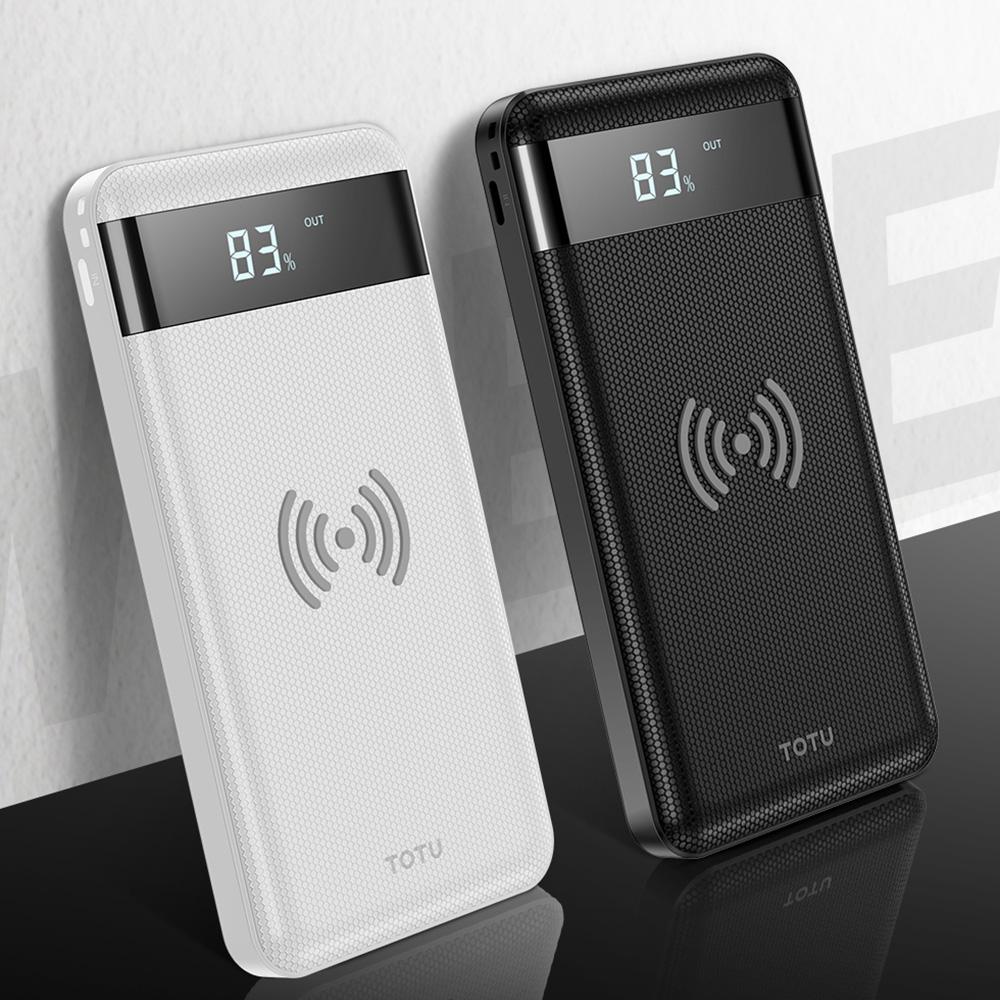 TOTU|CPBW06-蜂能系列無線充行動電源10000mAh