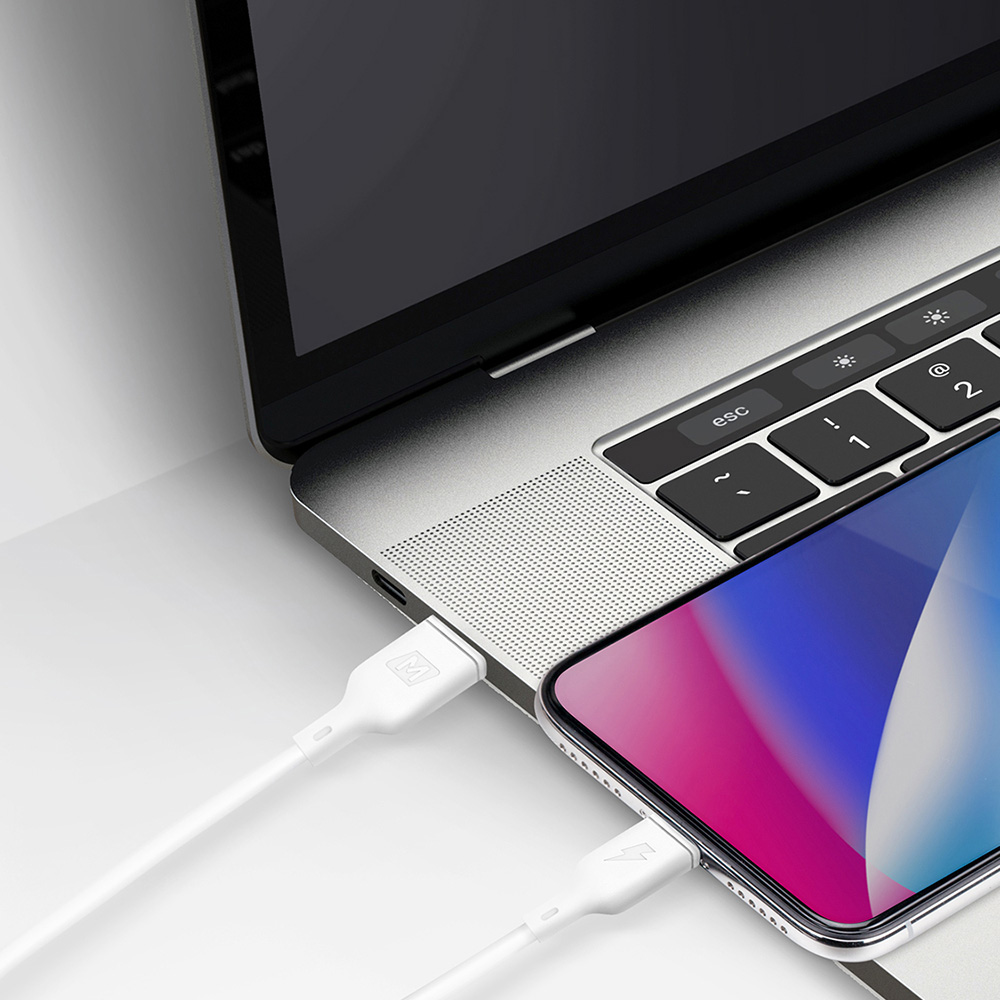 MOMAX 蘋果數據充電線Lightning to Type-C 1.2m DL36