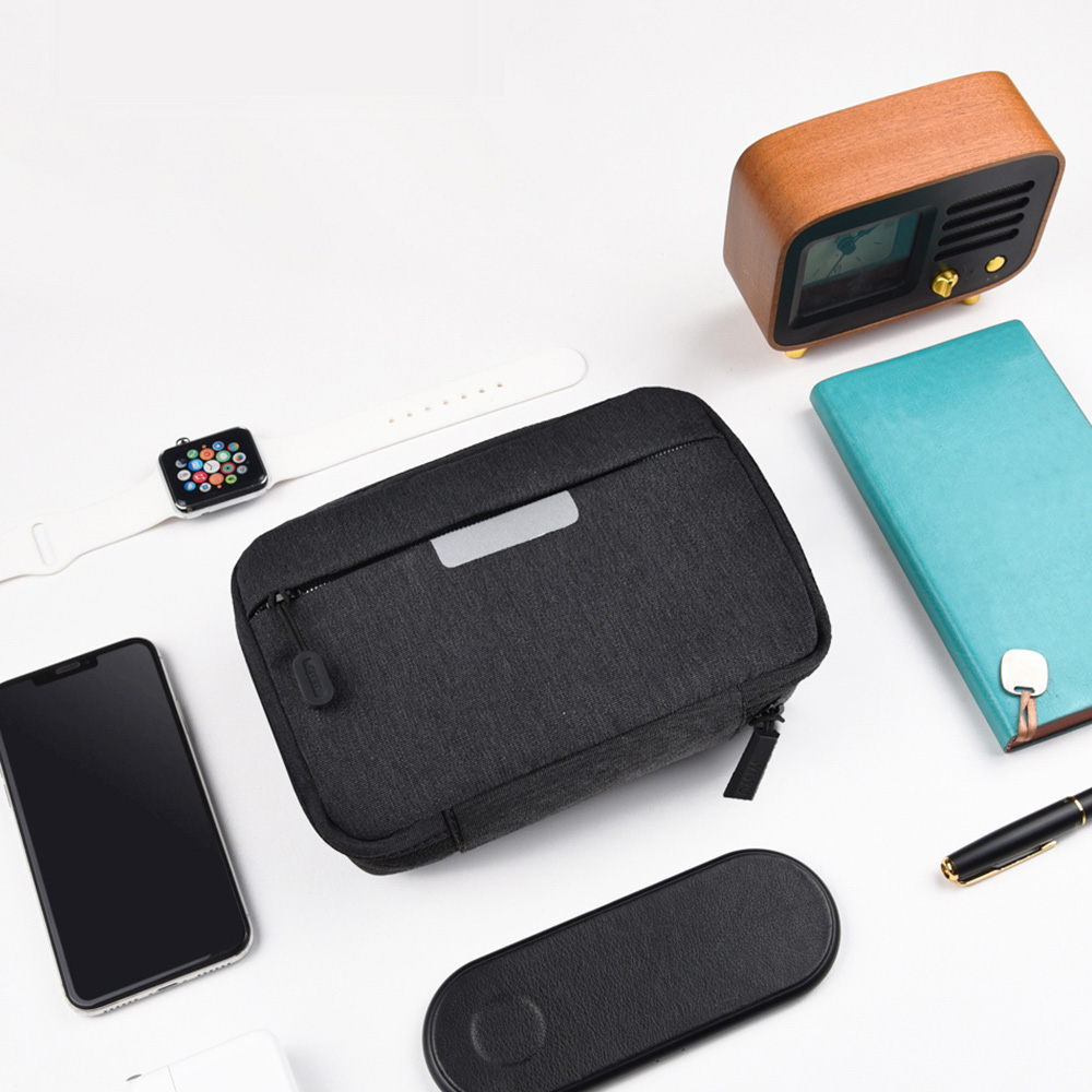 WiWU|Cozy Storage Bag 雅士穿梭3C配件收納包GM1811 - 中號