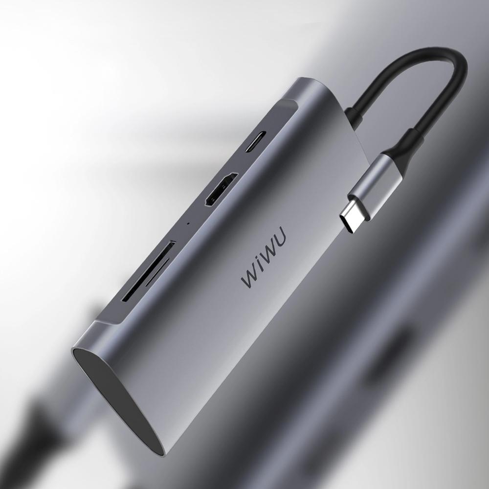 WiWU   Alpha Type-C 7合1擴充轉接器 A731HP
