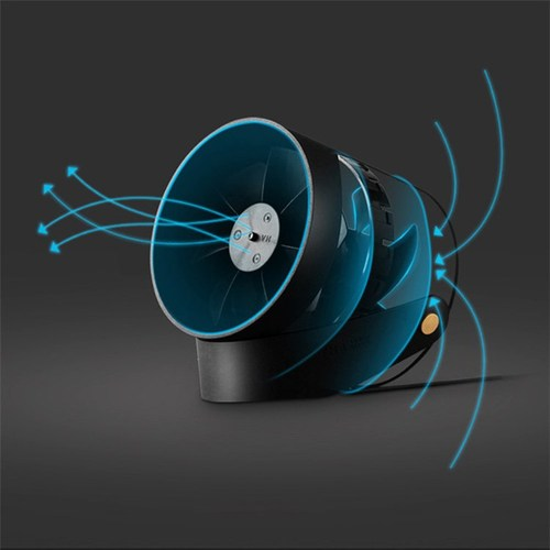 VH | Yu 羽 - 線控升級雙葉USB兩段式靜音風扇