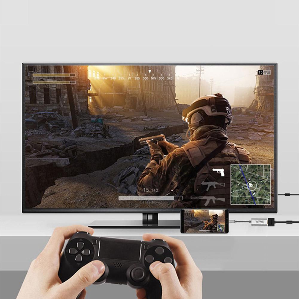 WiWU | Alpha Type-C to HDMI 4K高清畫質傳輸線