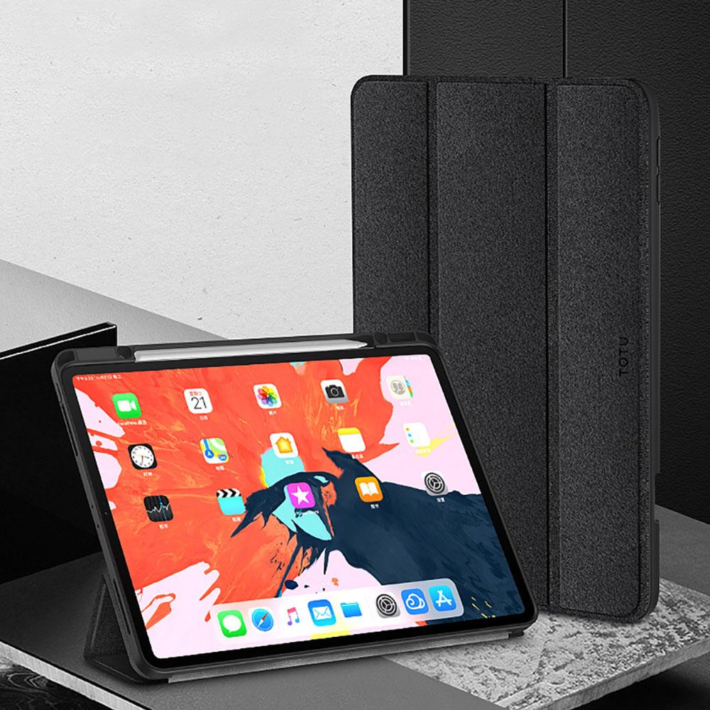 TOTU | 幕系列iPad Pro 11吋保護套(2020 二代)AA108黑色