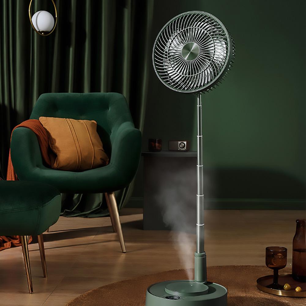 Edon愛登   加濕式便攜無線伸縮收納式電扇-E908B-風扇與加濕器