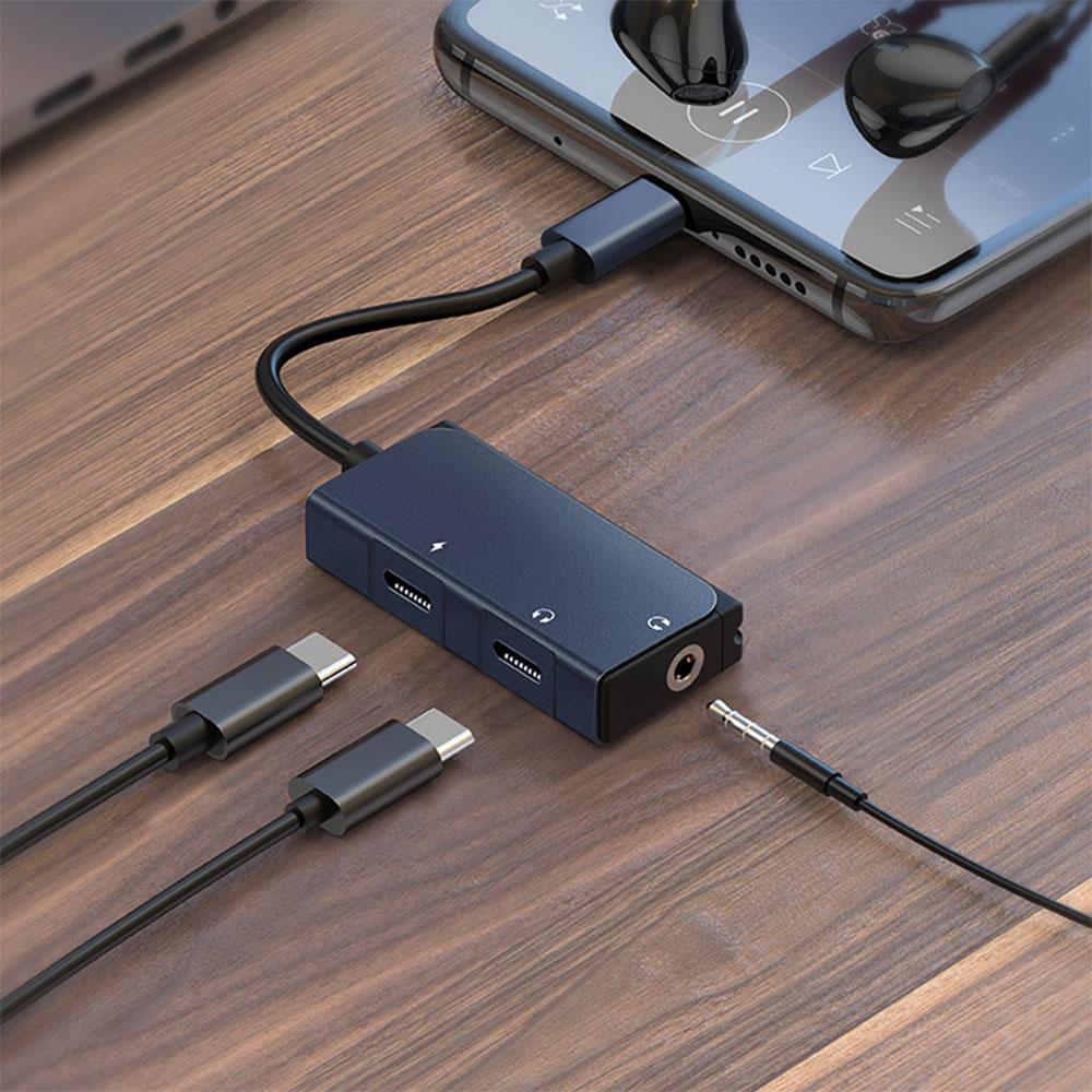 WiWU吉瑪仕|Audio Adapter Type-C音頻轉接器LT02 Pro