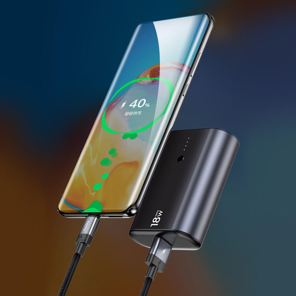 TOTU 拓途 極速系列金屬PD快充mini行動電源 9600mAh CPBQ08