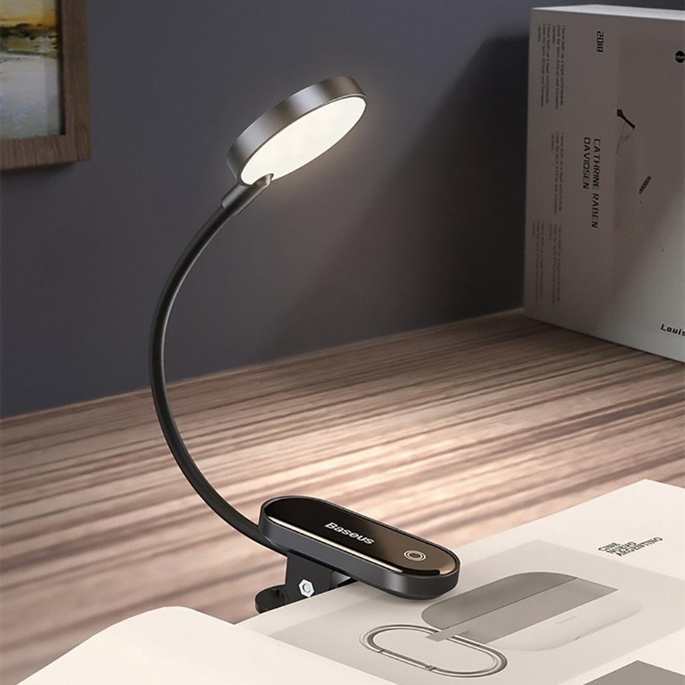 Baseus 倍思|充電式圓閱迷你夾子燈DGRAD-0G