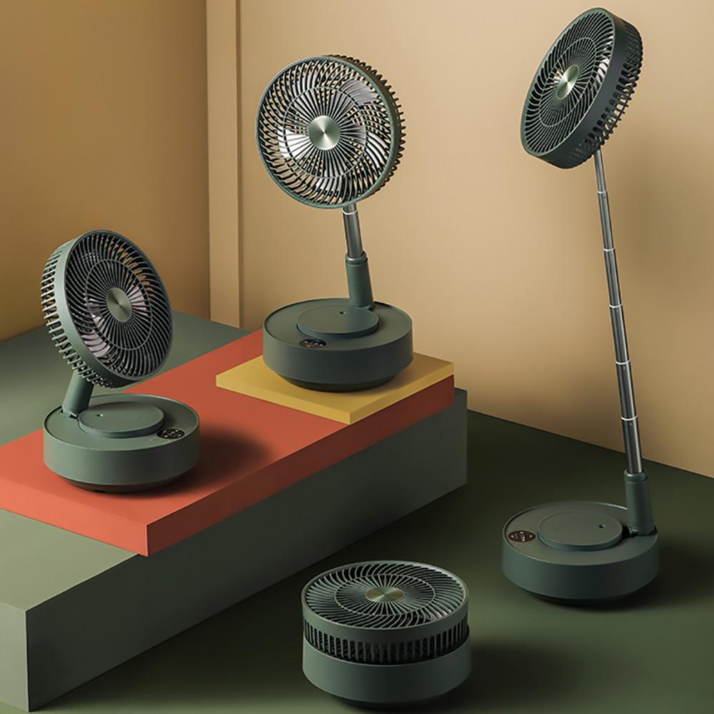 Edon愛登|加濕式便攜無線伸縮收納式電扇-E908B-風扇與加濕器