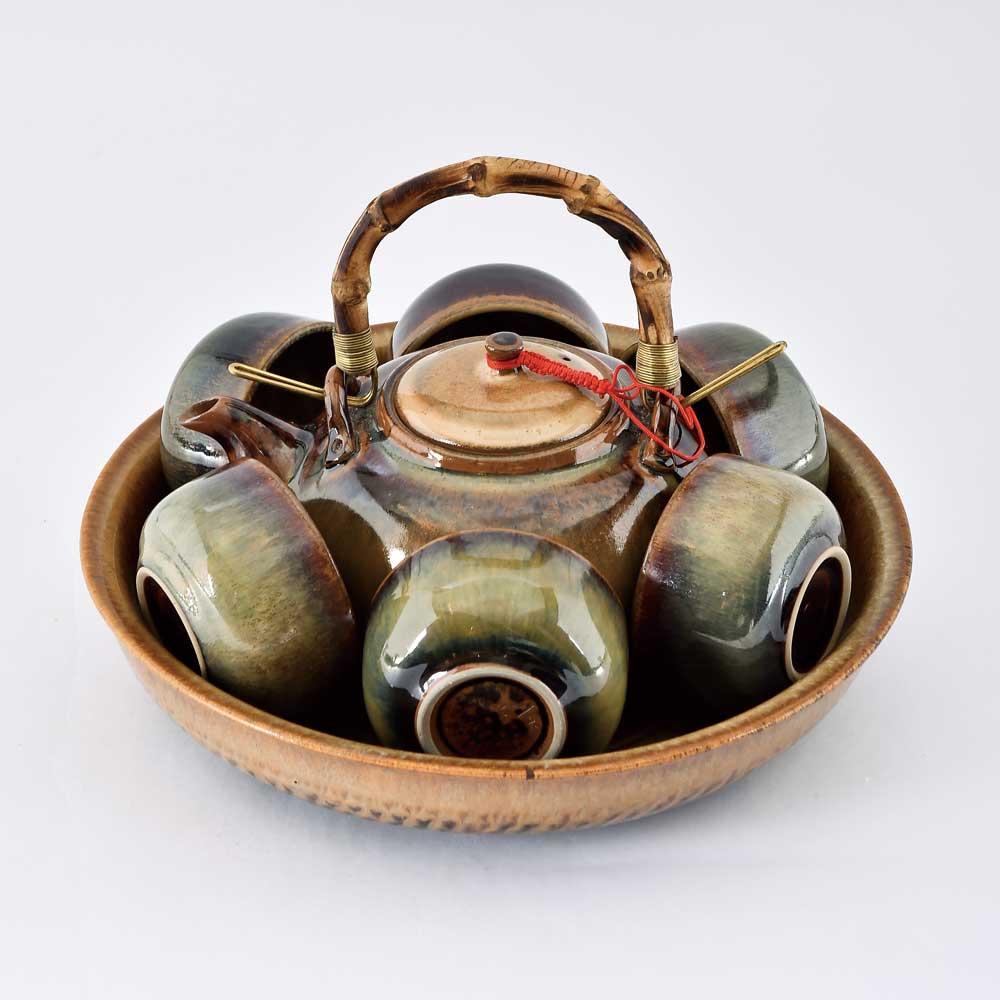 美濃窯|秋香茶具組