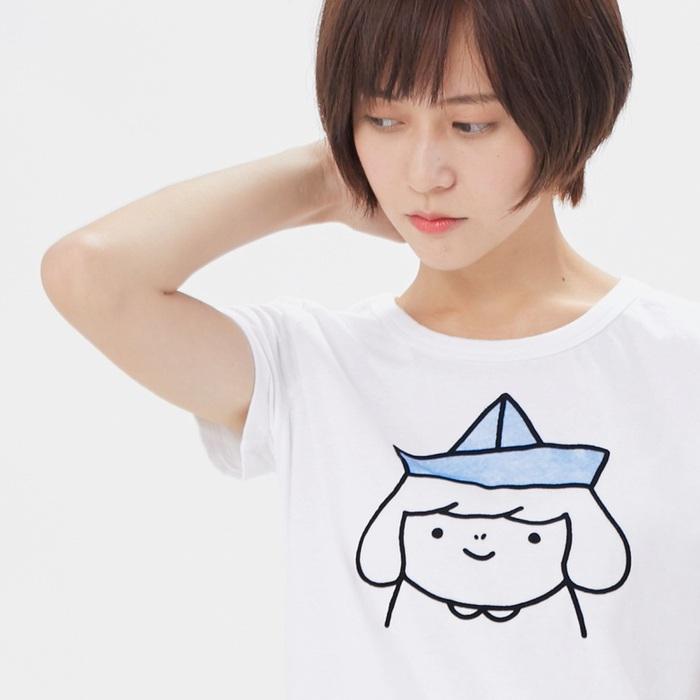 好我 so that′s me|夢想小船短袖蜜桃棉女T