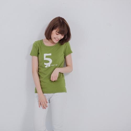 好我 so that′s me|Give me 5 短袖蜜桃棉女T