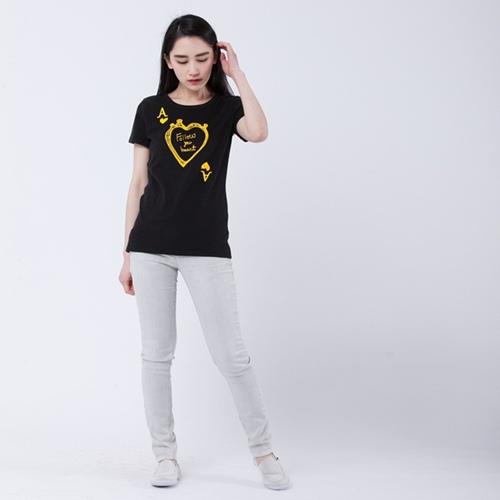 好我 so that′s me|A heart短袖蜜桃棉女T