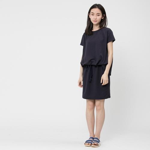 好我 so that′s me|法國小毛圈衣裙洋裝/深藍