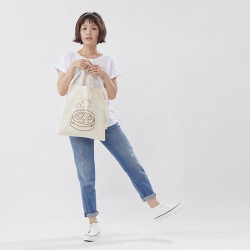 好我 so that′s me 小籠包兩用提肩棉質環保購物袋 台灣特產