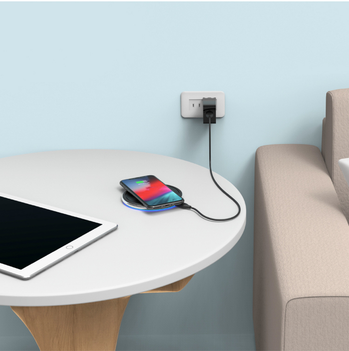 ADAM|OMNIA P1 (2入組) QC3.0 快速充電器 18W (通過BSMI/FCC/CE/RoHS認證)