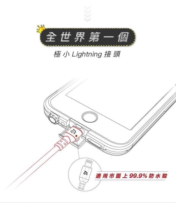 (複製)ADAM|PeAk III Lightning Cable 120B 金屬編織傳輸線 (120cm)