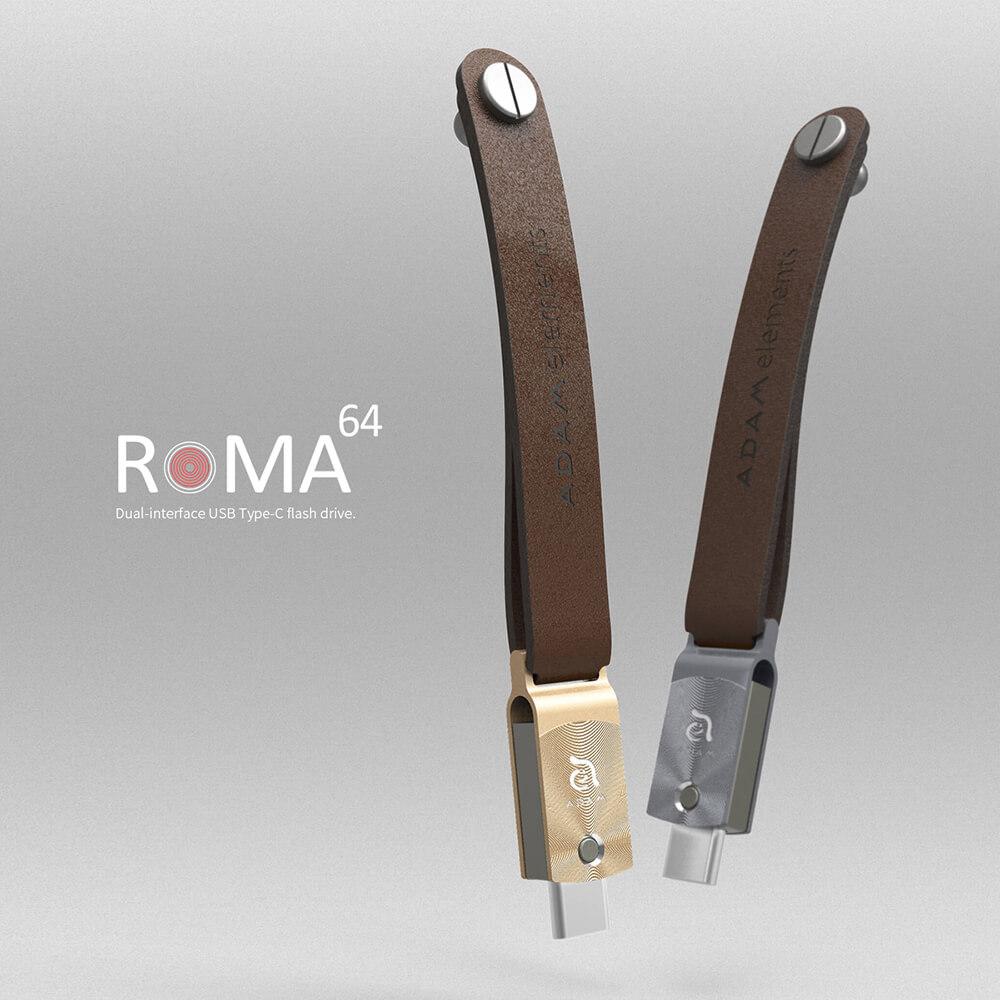 ADAM ROMA USB-C - USB3.1 雙用隨身碟 64GB