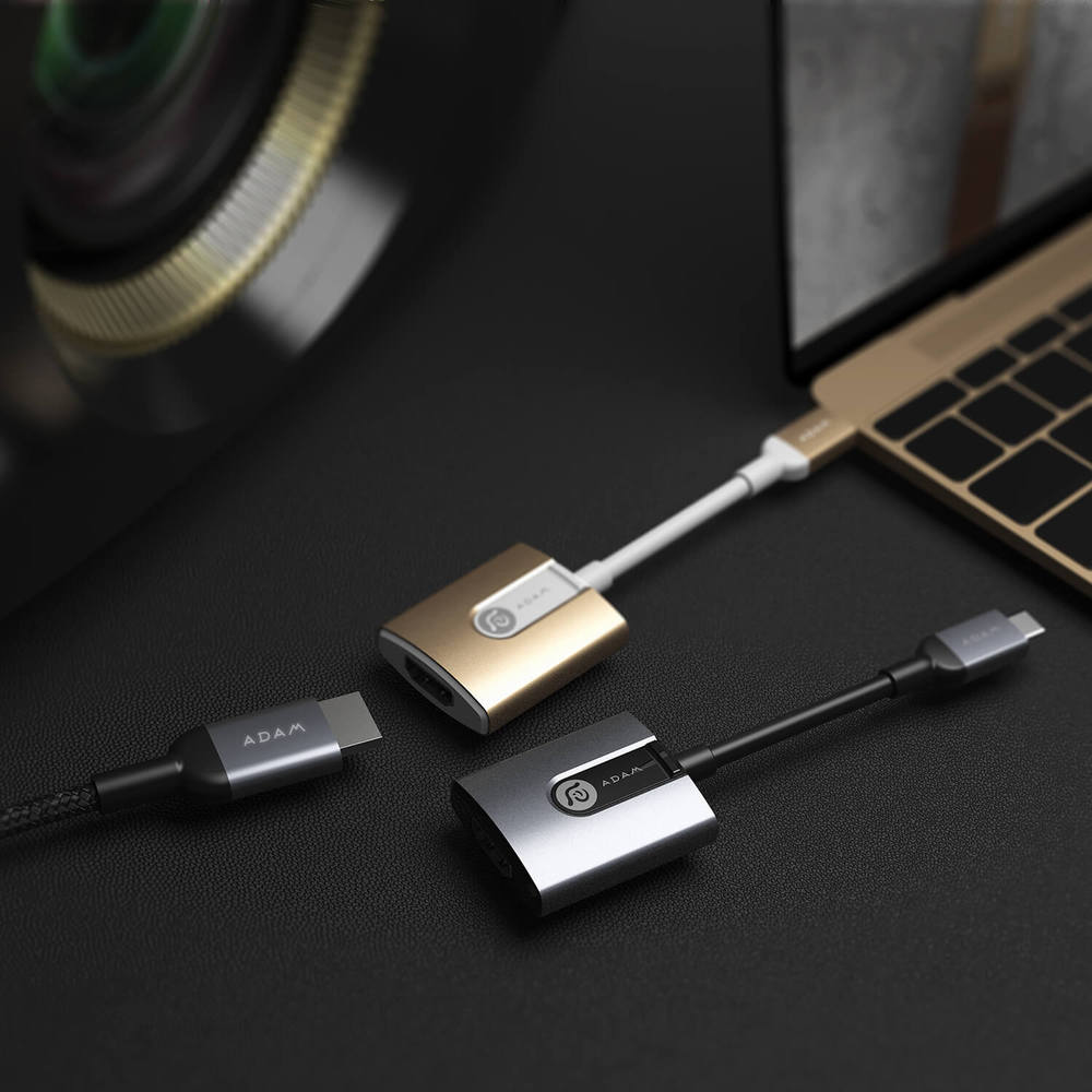ADAM CASA H01 USB-C 對 HDMI 轉接器