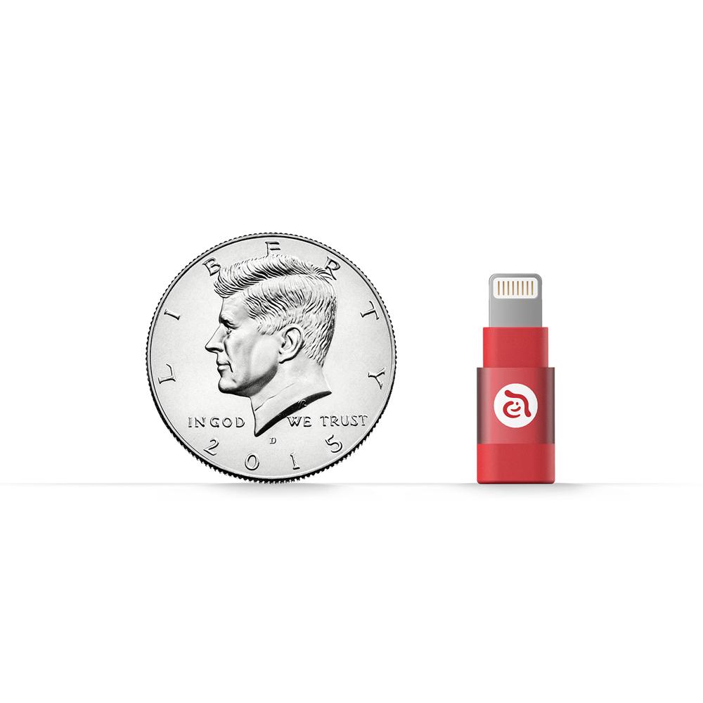 ADAM|亞果元素 PeAk A1 Micro USB 轉 Lightning 轉接頭
