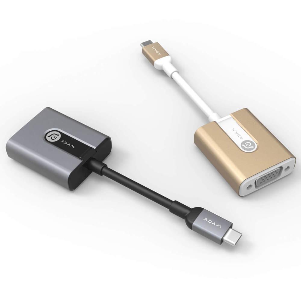 ADAM|CASA V01 USB-C 對 VGA 轉接器