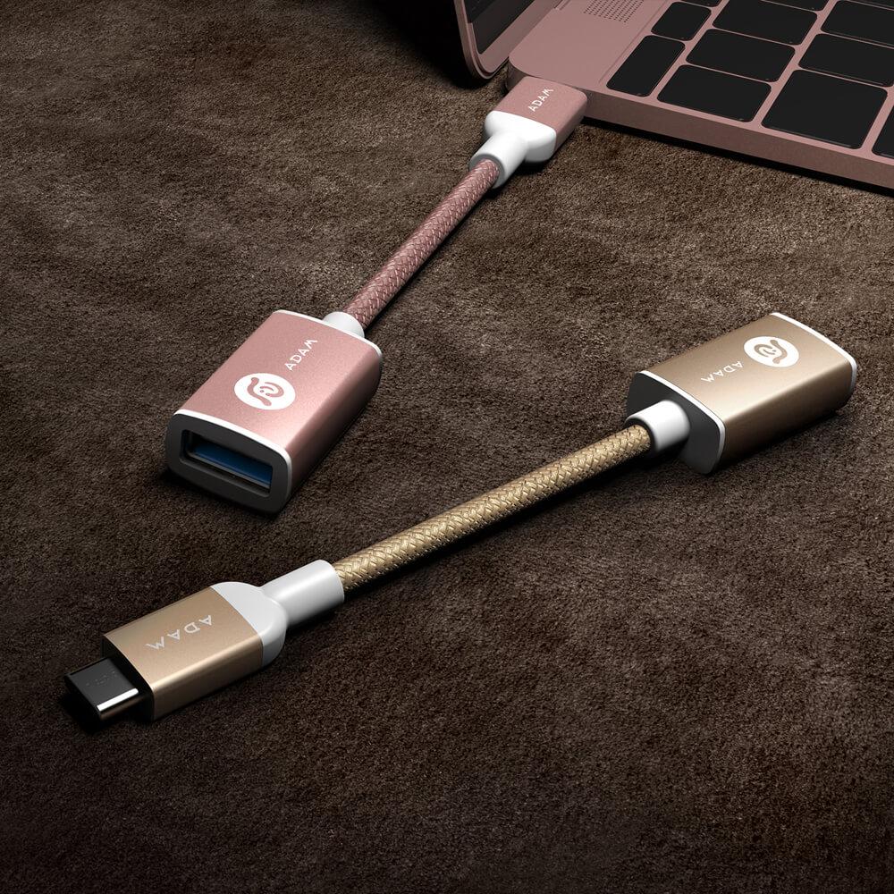 ADAM|F13 USB-C to USB3.1 轉接線 13cm