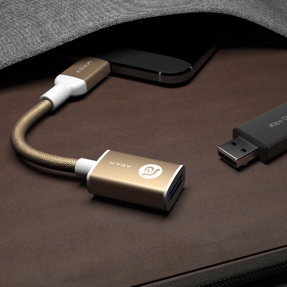 ADAM|CASA F13 USB3.1 - USB-C 傳輸轉接器