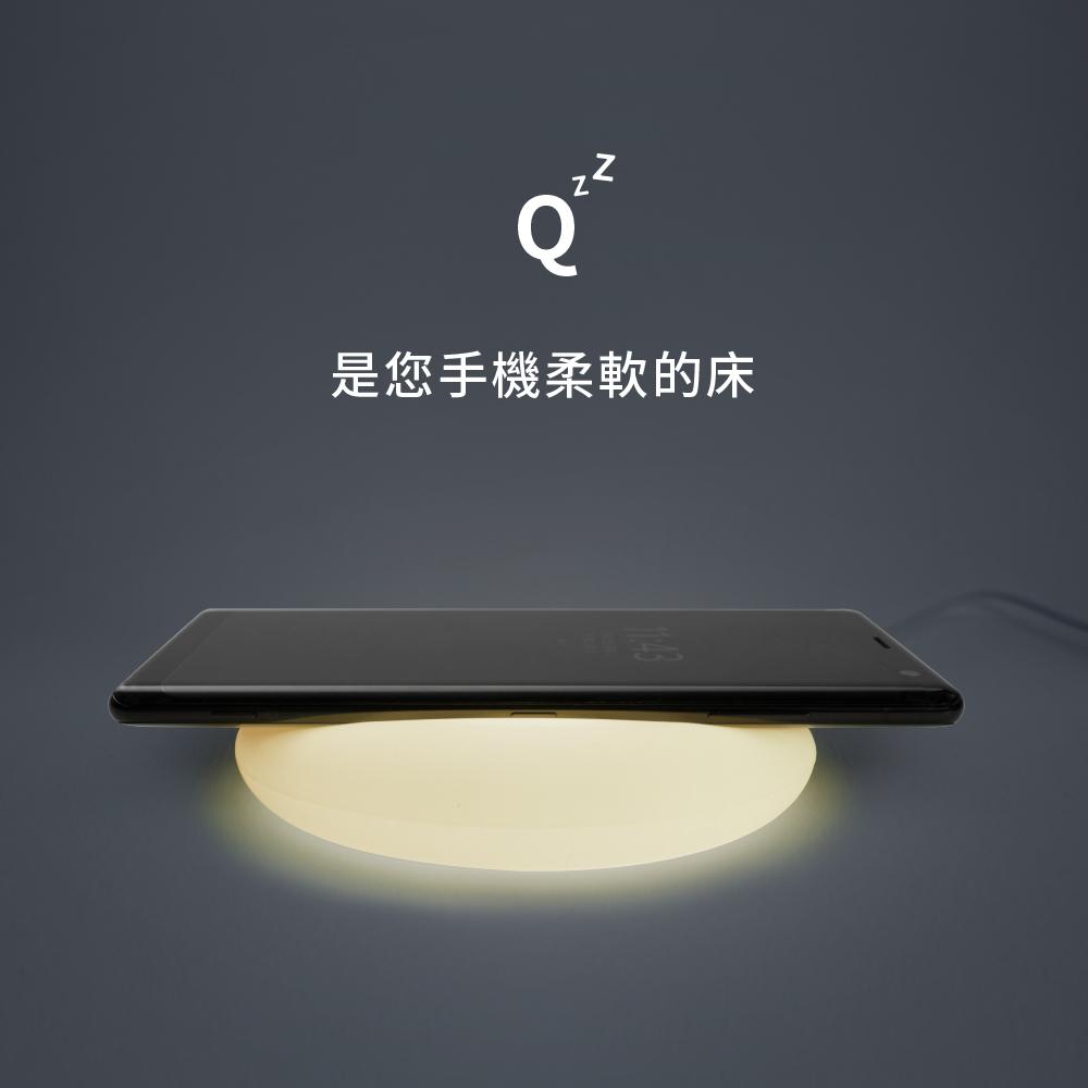 ADAM|OMNIA Q 無線快充組 10W 無線充電盤+QC3.0 快充頭