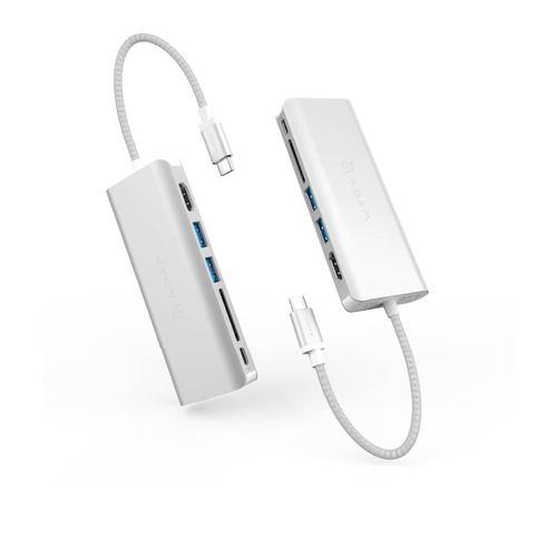 ADAM|Hub A01 Type-C 100W 6 合 1 多功能轉接器(一秒擴充MacBook Pro)
