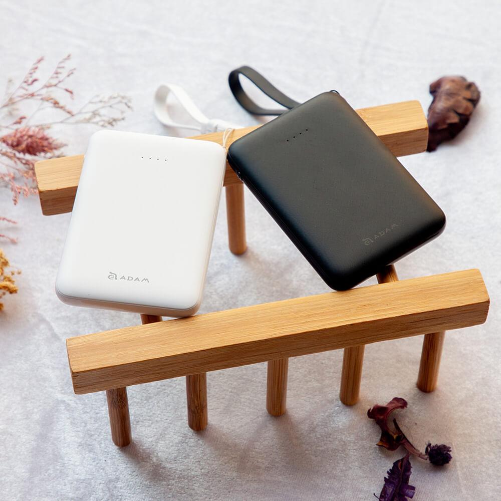ADAM|GRAVITY mini (2入組) 超輕薄 雙輸出 行動電源 5000mAh