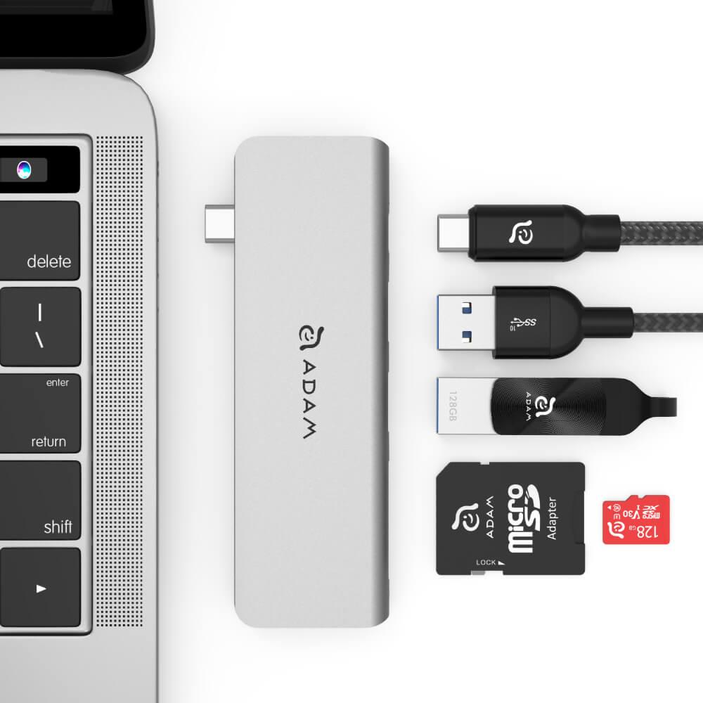 ADAM|Hub 5E USB 3.1 USB-C 5 合 1 多功能轉接器